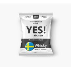 Спиртовые турбо дрожжи YES! YouCan Whisky, 45 гр.