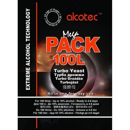 Дрожжи Alcotec «Megapack 100L»