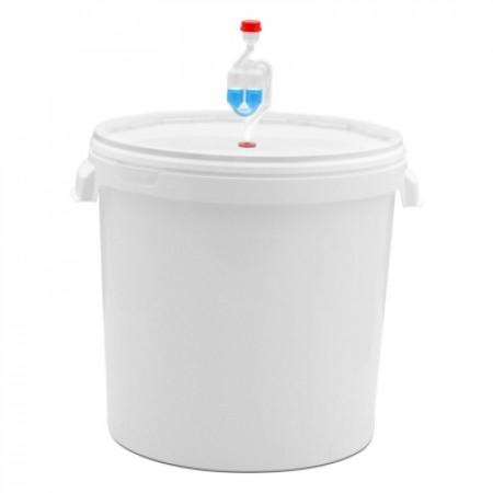 Емкость для сбраживания 32л с гидрозатвором