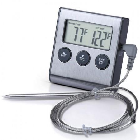 Термометр-щуп с звуковым сигналом