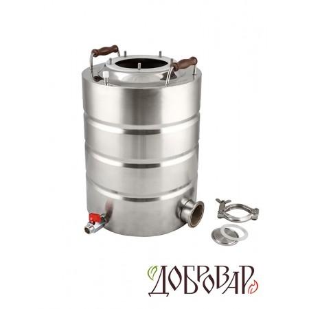 """Куб 17 л, ТЭН-К-версия (2""""), 5 шпилек (без крышки)"""