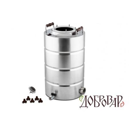 "Куб 29 л, ТЭН-Р-версия (1½""), 5 шпилек (без крышки)"