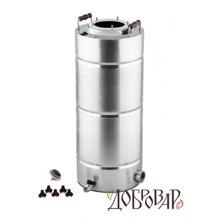 "Куб 35 л, ТЭН-Р-версия (1½""), 5 шпилек (без крышки)"