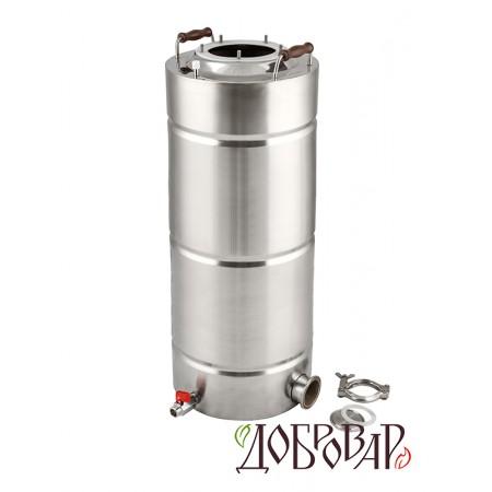 """Куб 35 л, ТЭН-К-версия (2""""), 5 шпилек (без крышки)"""