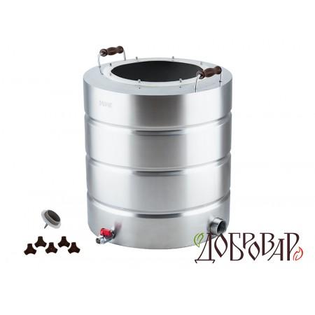 "Куб 51 л, ТЭН-Р-версия (1¼""), 8 шпилек (без крышки)"