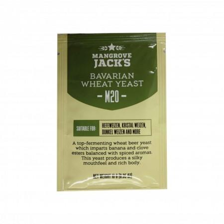 """Пивные дрожжи Mangrove Jack's """"Bavarian Wheat M20"""", 10г."""