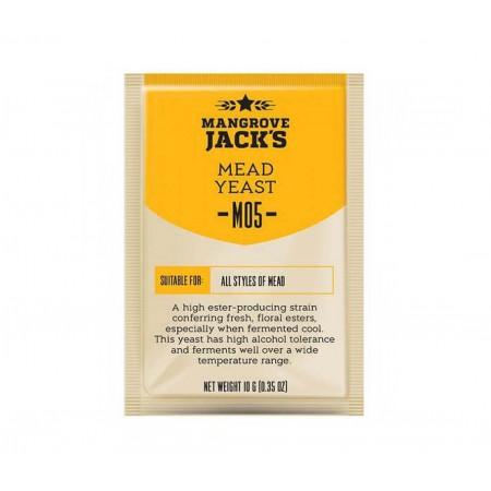 Дрожжи пивные Mangrove Jacks Mead M05, 10 гр.