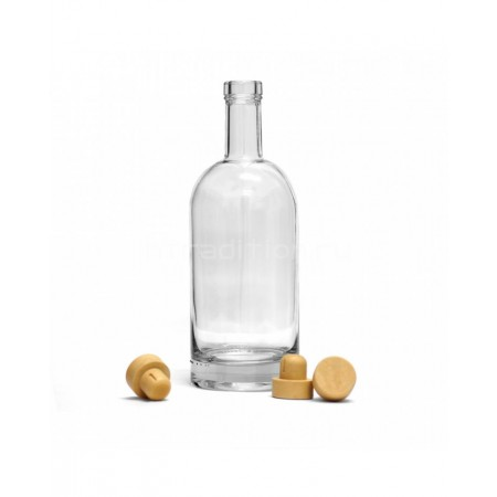 Бутылка Виски Премиум, 1л. c пробкой