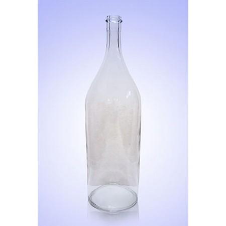 Бутыль Литр 1л, без рисунка (прозрачная)